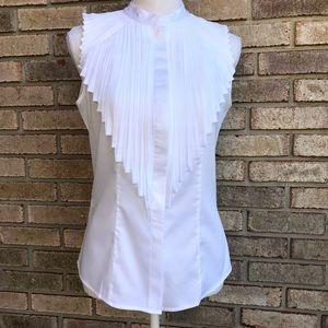 NWOT Antonio Melani sleeveless career blouse
